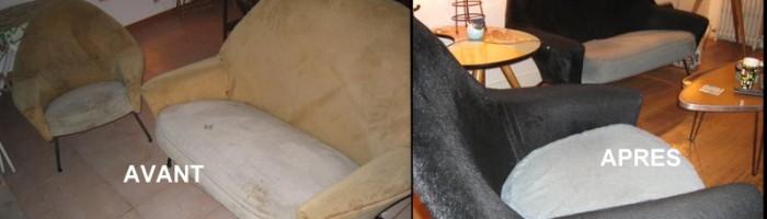 canapé et fauteuil steiner