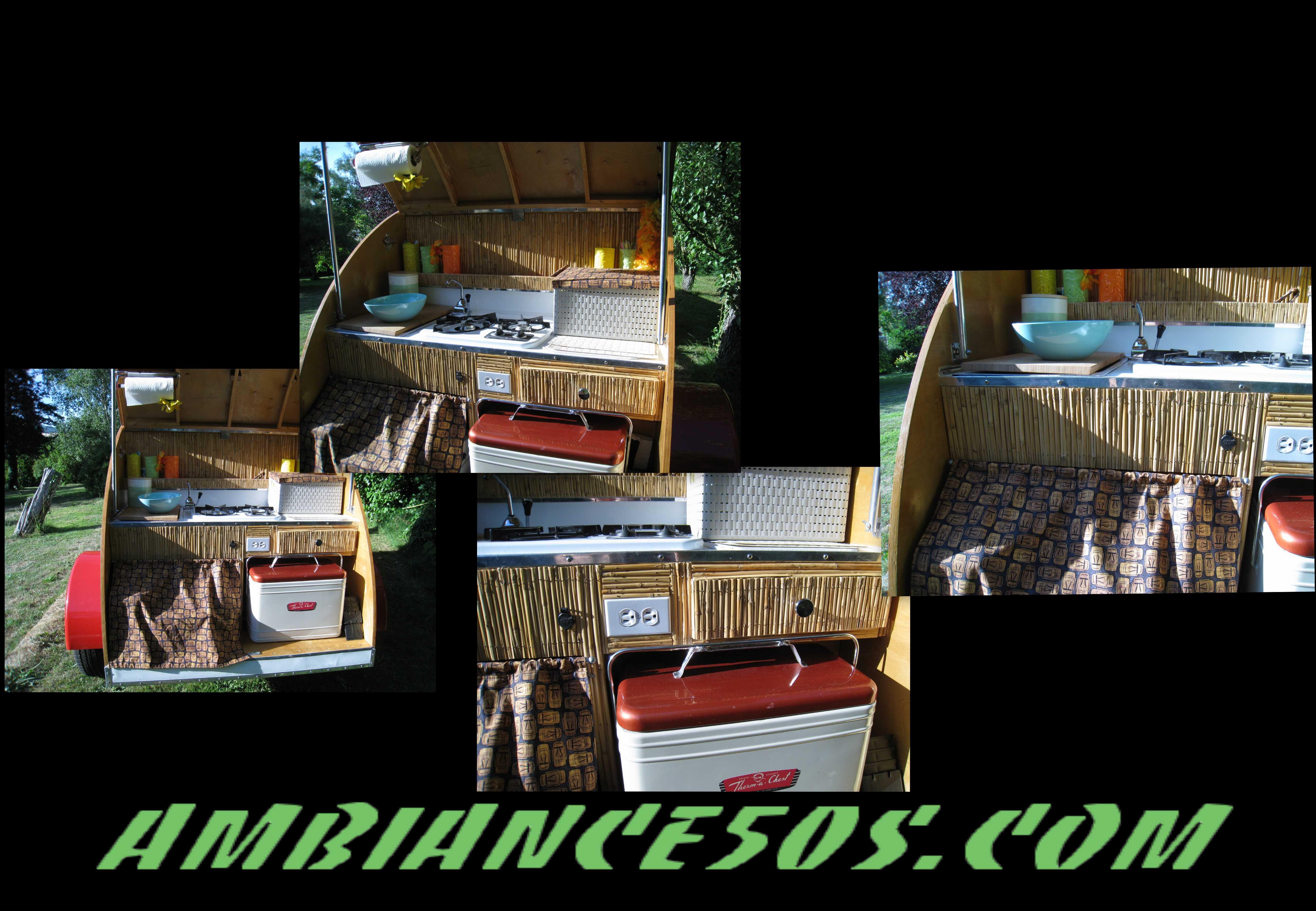 montage caravane brown