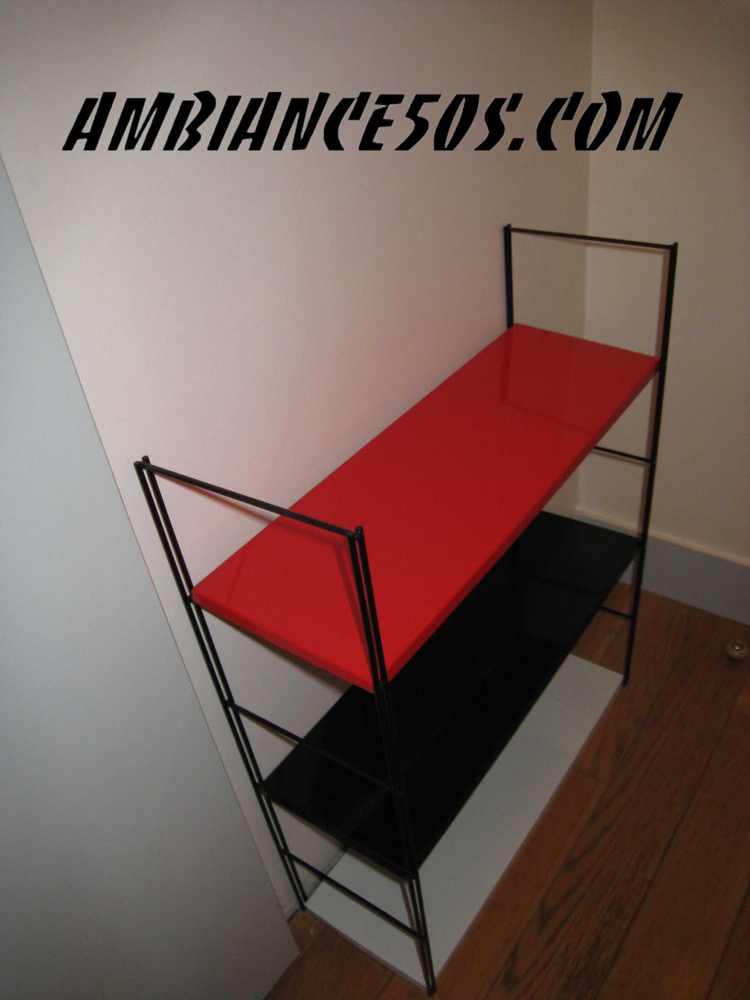 tag re murale en fer style tomado ambiance 50 39 s. Black Bedroom Furniture Sets. Home Design Ideas