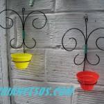 paire de porte plante papillion