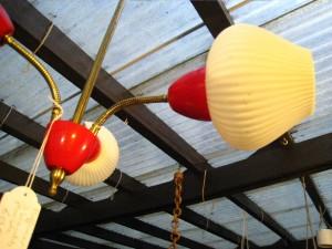 plafonnier 3 branches plexi rouge blanc.1