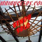 plafonnier bambou.1 vendu