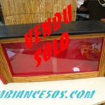 vitrine bambou vendu
