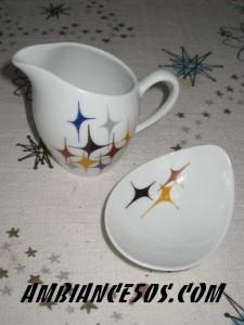 2 pieces étoiles moderne