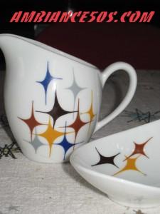 2 pieces étoiles moderne.1