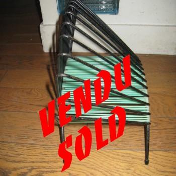porte disques vert.3 vendu