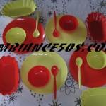 vaisselle plastique.2