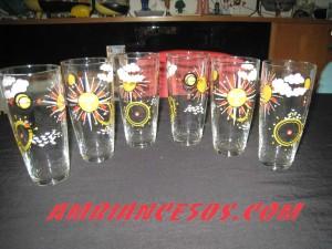 6 verres soleil marin