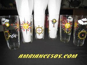 6 verres soleil marin.1