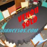 7 chaises couleurs.21 vendu