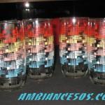 4 verre 6 couleurs