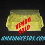 beurrier plastique jaune vendu