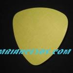 dessous de plat triangle jaune