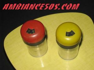 sel et poivre rouge et jaune