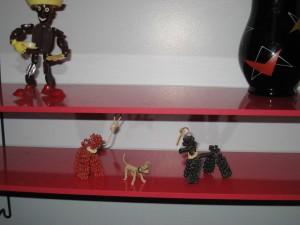 étagère rouge destock.2
