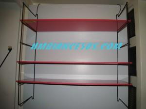 étagère rouge destock.6